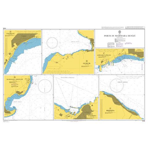 Admiralty Seyir Haritası 1006 - Marmara Denizi Limanları