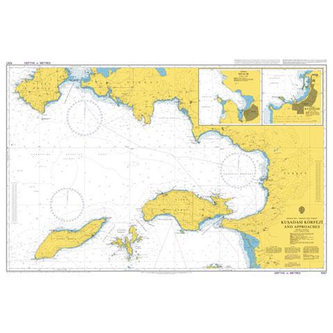 Admiralty Seyir Haritası 1057 - Kuşadası Körfezi ve Çevresi