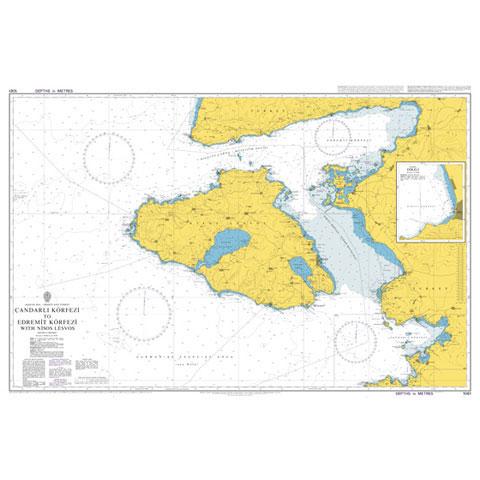 Admiralty Seyir Haritası 1061 - Çandarlı Körfezi - Edremit Körfezi