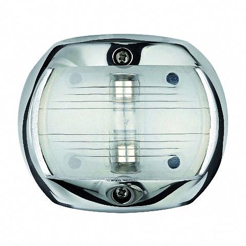 Osculati COMPACT 12 Seyir Feneri AISI 316 Paslanmaz Çelik 12V - Pruva - Beyaz