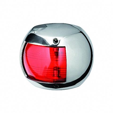 Osculati MAXI 20 Seyir Feneri AISI 316 Paslanmaz Çelik 12V - İskele - Kırmızı