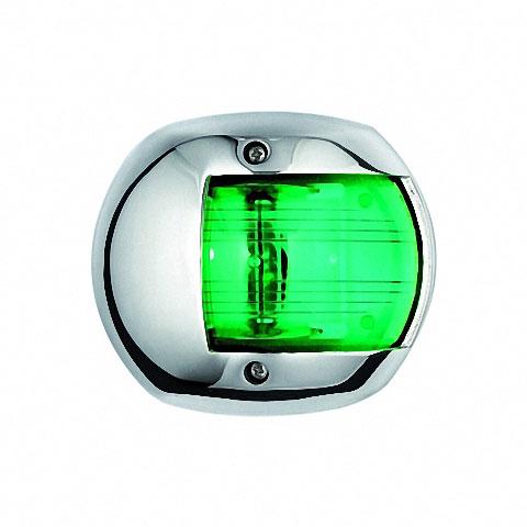 Osculati MAXI 20 Seyir Feneri AISI 316 Paslanmaz Çelik 12V - Sancak - Yeşil