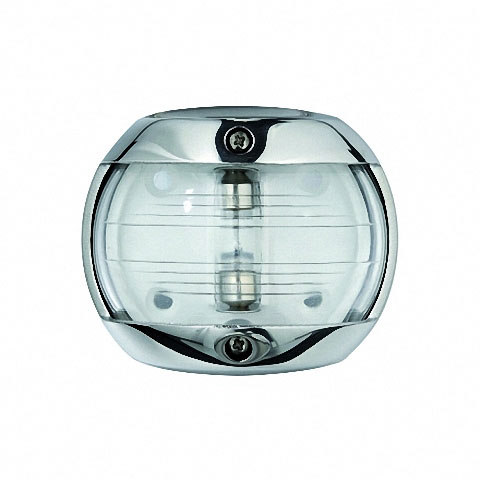 Osculati MAXI 20 Seyir Feneri AISI 316 Paslanmaz Çelik 12V - Pruva - Beyaz