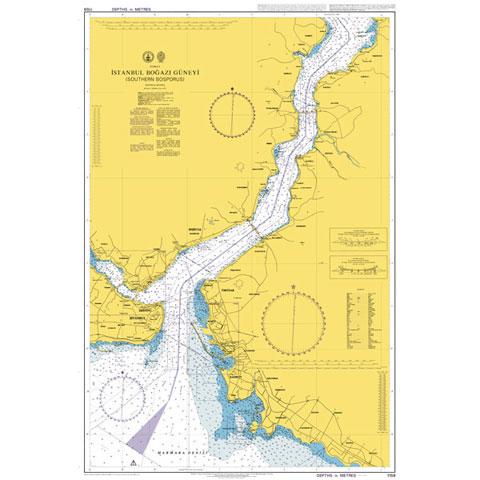 Admiralty Seyir Haritası 1159 - Güney İstanbul Boğazı