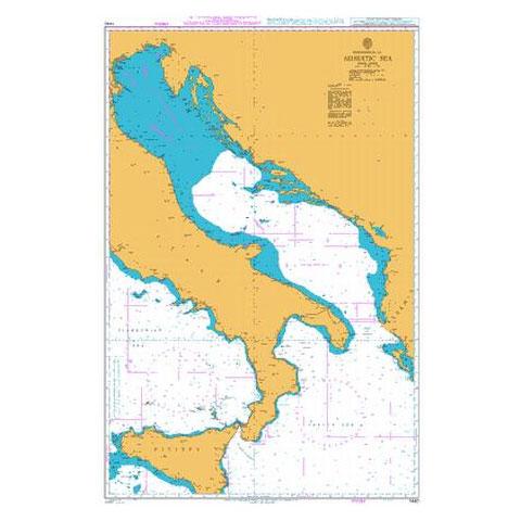 Admiralty Seyir Haritası 1440 - Adriyatik Denizi