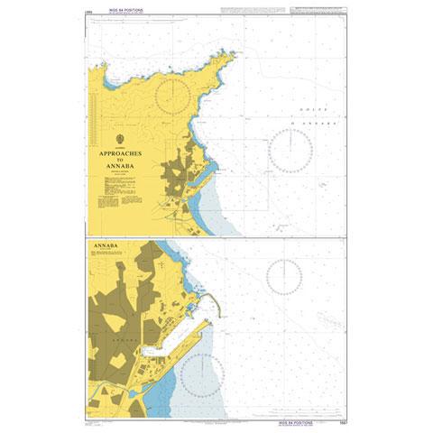 Admiralty Seyir Haritası 1567 - Annaba