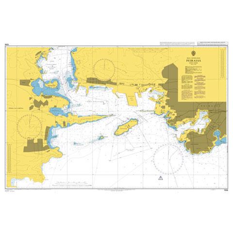 Admiralty Seyir Haritası 1596 - Pire