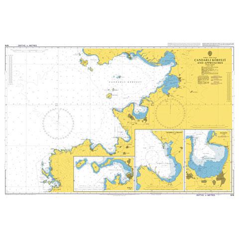 Admiralty Seyir Haritası 1618 - Çandarlı Körfezi ve Çevresi