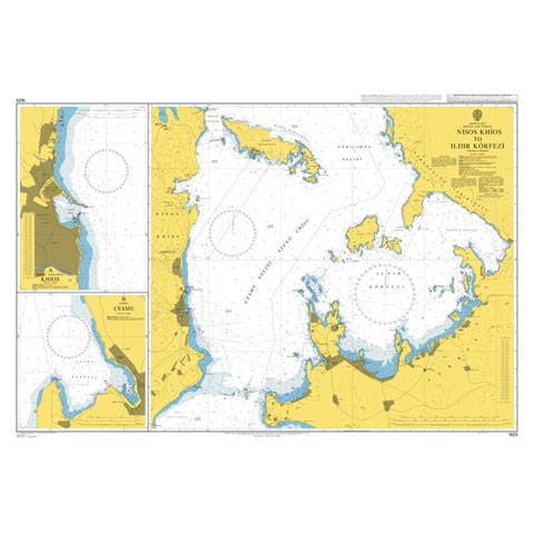 Admiralty Seyir Haritası 1625 - Sakız - Ildır Körfezi