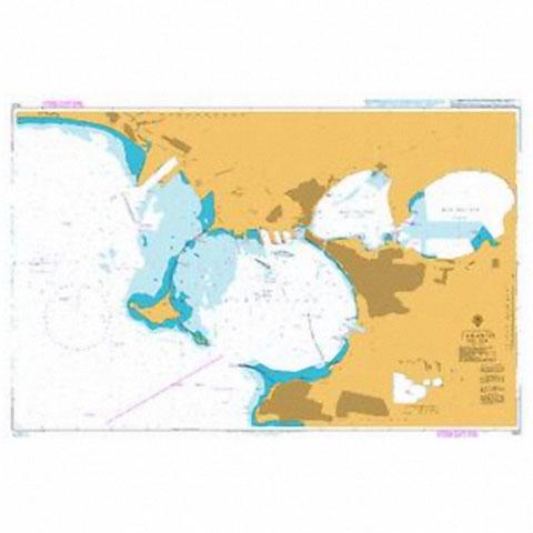 Admiralty Seyir Haritası 1643 - Taranto
