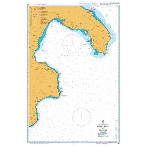 Admiralty Seyir Haritası 187 - Punta Stilo - Brindisi