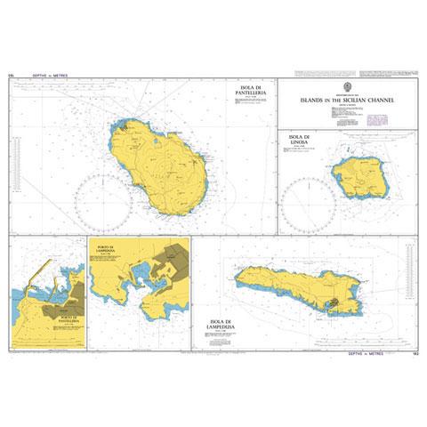 Admiralty Seyir Haritası 193 - Sicilya Boğazı