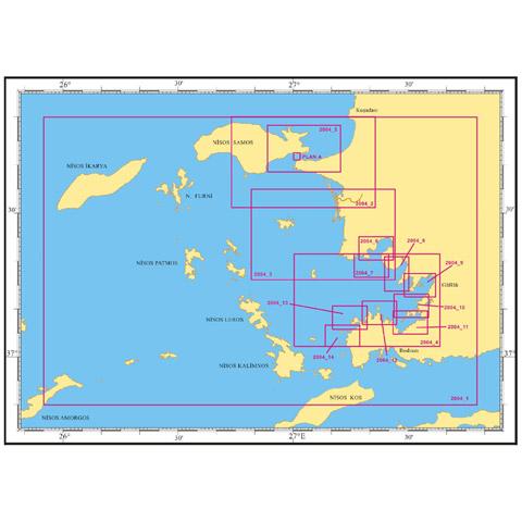 SHODB Yat Haritası 2004