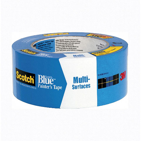 3M Scotch-Blue Maskeleme Bandı 50mm.x 50m. - Mavi