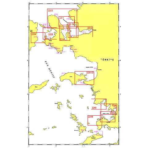 SHODB Seyir Haritası 2215