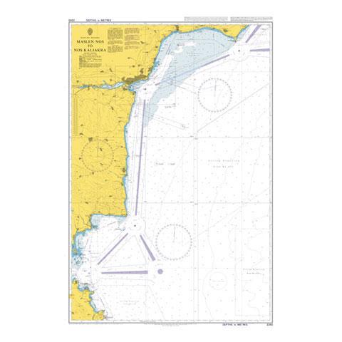 Admiralty Seyir Haritası 2283 - Maslen Nos - Nos Kaliakra