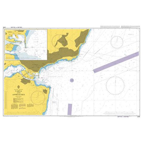 Admiralty Seyir Haritası 2285 - Varna ve Çevresi