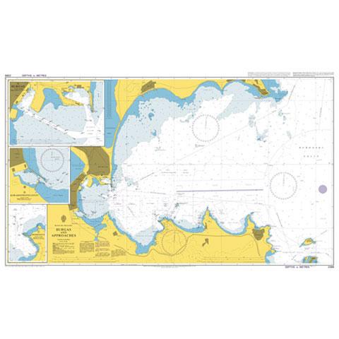 Admiralty Seyir Haritası 2399 - Burgas ve Çevresi