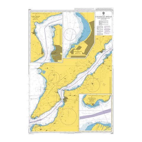 Admiralty Seyir Haritası 2429 - Çanakkale Boğazı