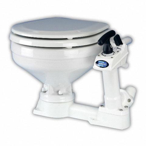 ITT Jabsco Twist 'n' Lock Manuel Tuvalet - Küçük Taş