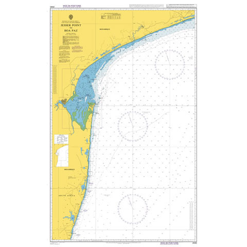 Admiralty Seyir Haritası 2930 - Jesser Point - Boa Paz