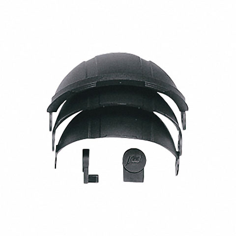 Plastimo Pusula Kapağı Siyah - Olympic 135 için