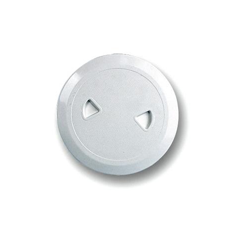 Nuova Rade Plastik Kontrol Kapağı - Beyaz - Ø=108-162mm.