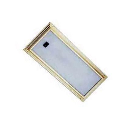AAA Floresan Lamba Gömme Sarı 355x152x38 mm. 12V 2x8W - Anahtarlı