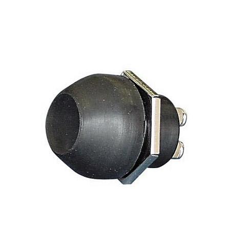 AAA Korna Butonu Çap22mm. - Siyah