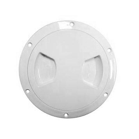 AAA Plastik Kontrol Kapağı - Beyaz - Ø=107mm.
