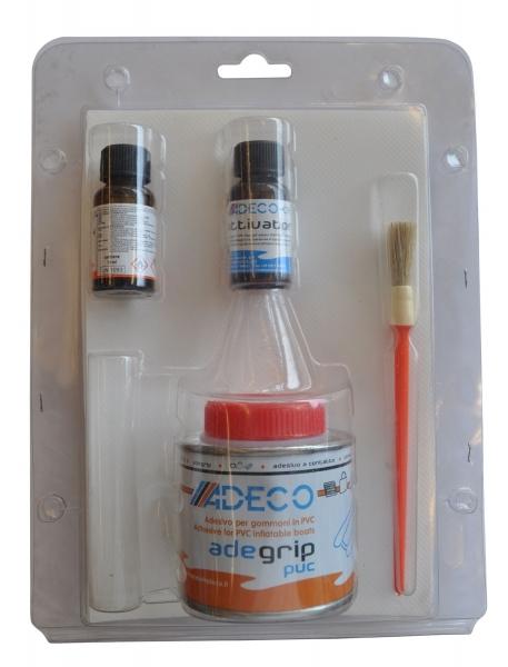 Adeco AdeGrip PVC Şişme Bot Tamir Kiti - Gri