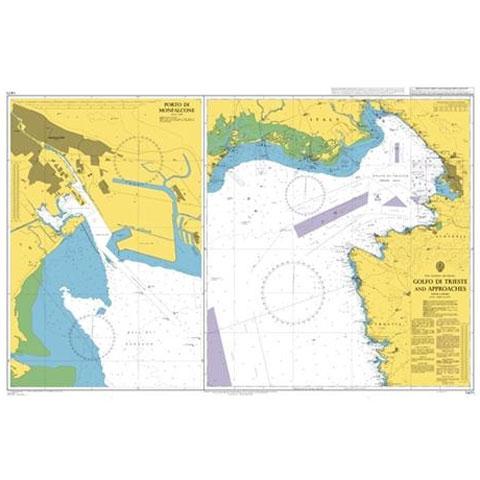Admiralty Seyir Haritası 1471 - Trieste Körfezi ve Çevresi