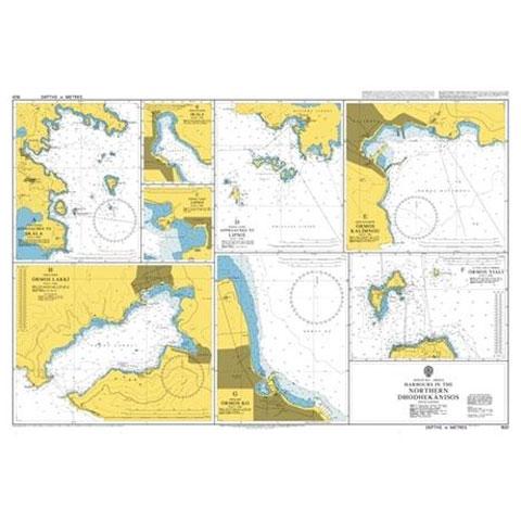 Admiralty Seyir Haritası 1531 - Oniki Adalar Kuzey Limanları