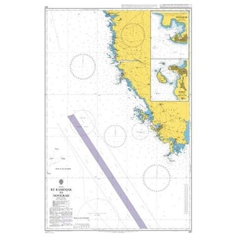 Admiralty Seyir Haritası 201 - Kamenjak Burnu - Novigrad