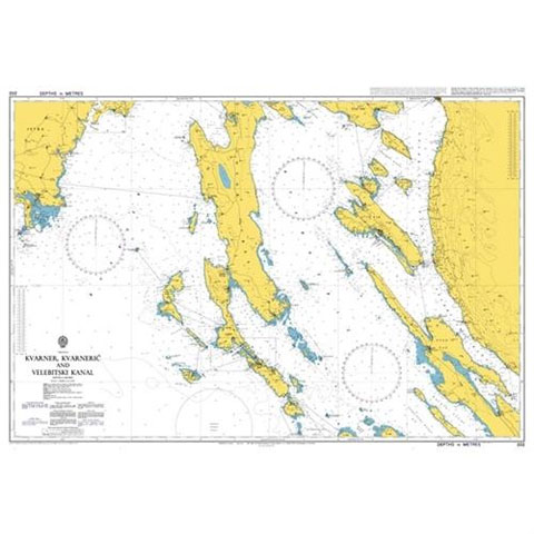 Admiralty Seyir Haritası 202 - Kvamer - Velebit