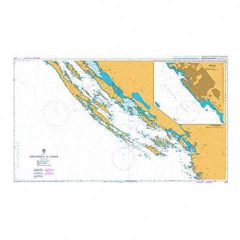 Admiralty Seyir Haritası 2711 - Rogoznica - Zadar