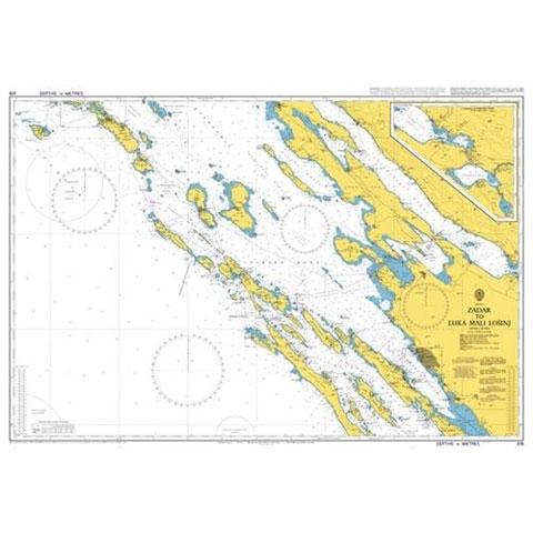 Admiralty Seyir Haritası 515 - Zadar - Mali Losini Limanı