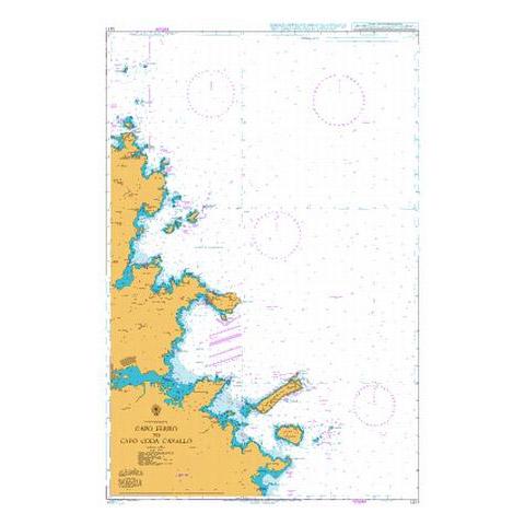 Admiralty Seyir Haritası 1211 - Ferro Burnu - Coda Cavallo Burnu