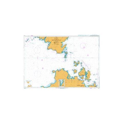 Admiralty Seyir Haritası 1213 - Bonifacio Geçidi