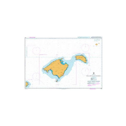 Admiralty Seyir Haritası 1703 - Mallorca - Menorca