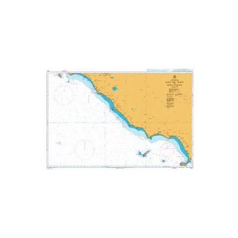 Admiralty Seyir Haritası 1911 - Giglio - Ischia