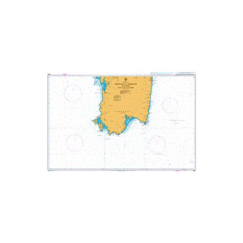 Admiralty Seyir Haritası 1990 - Oristano - Arbatax