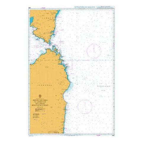 Admiralty Seyir Haritası 1992 - Porto Vecchio - Arbatax