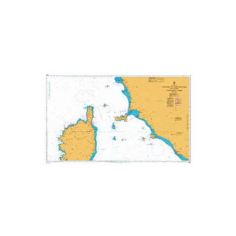 Admiralty Seyir Haritası 1999 - Livorno - Civitavecchia