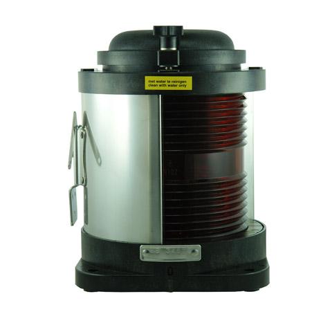 D.H.R. DHR55 Seyir Feneri Cam Elyaf Takviyeli Siyah Plastik - İskele - Kırmızı