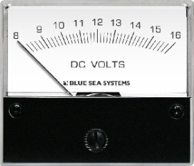 Blue Sea Systems 8003 Analog DC Voltmetre - 8-16V