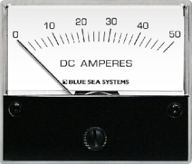 Blue Sea Systems 8022 Analog DC Ampermetre - 0-50A