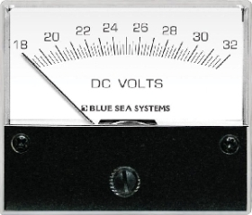 Blue Sea Systems 8240 Analog DC Voltmetre - 18-32V