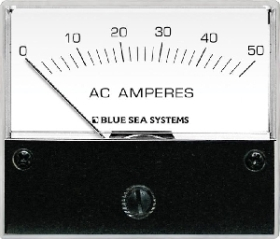 Blue Sea Systems 9630 Analog AC Ampermetre - 0-50A