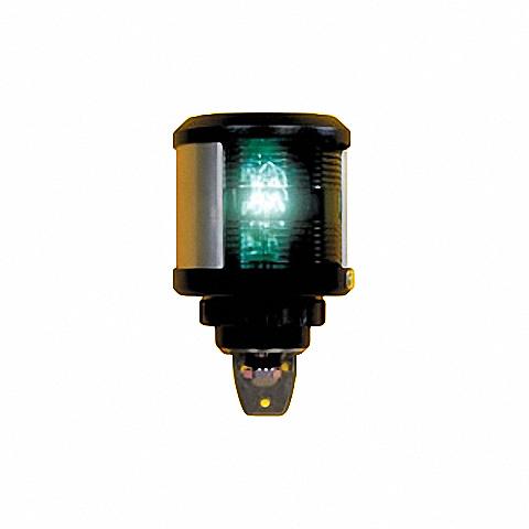 D.H.R. DHR35 Seyir Feneri Cam Elyaf Takviyeli Siyah Plastik - Sancak - Yeşil